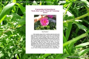 """Programming and integrating my  """"SvetL-Flora""""  and the """"Dome-DI"""" Technology devices"""